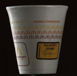 McDonalds Coffee Cup